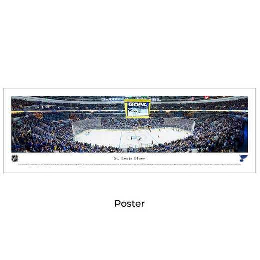 NHLBLU4: St. Louis Blues Hockey #4 - Unframed