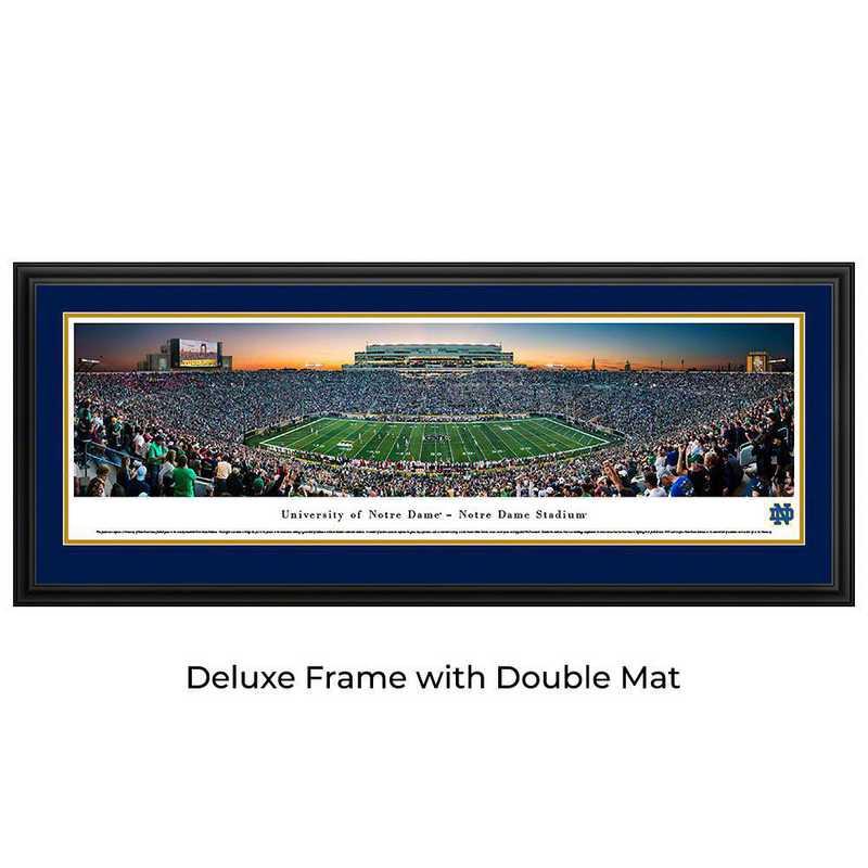 Notre Dame Fighting Irish Football - Panoramic Print