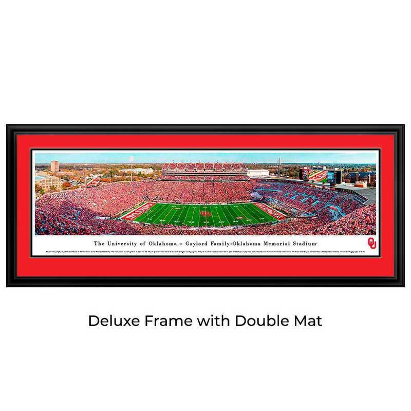 UOK8D: Oklahoma Sooners Football #8 (50 YD) - Deluxe