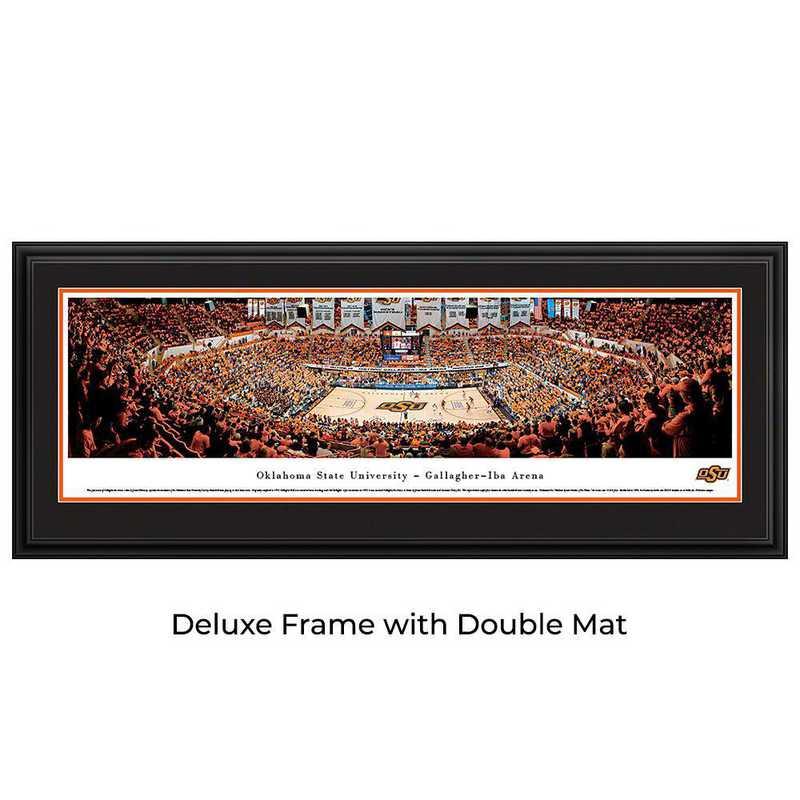 Oklahoma State Cowboys Basketball - Panoramic Print