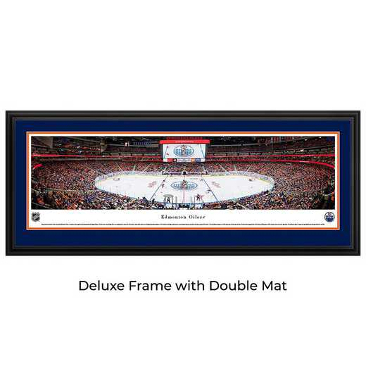 Edmonton Oilers - 1st Game at Rogers Place - Panoramic Poster