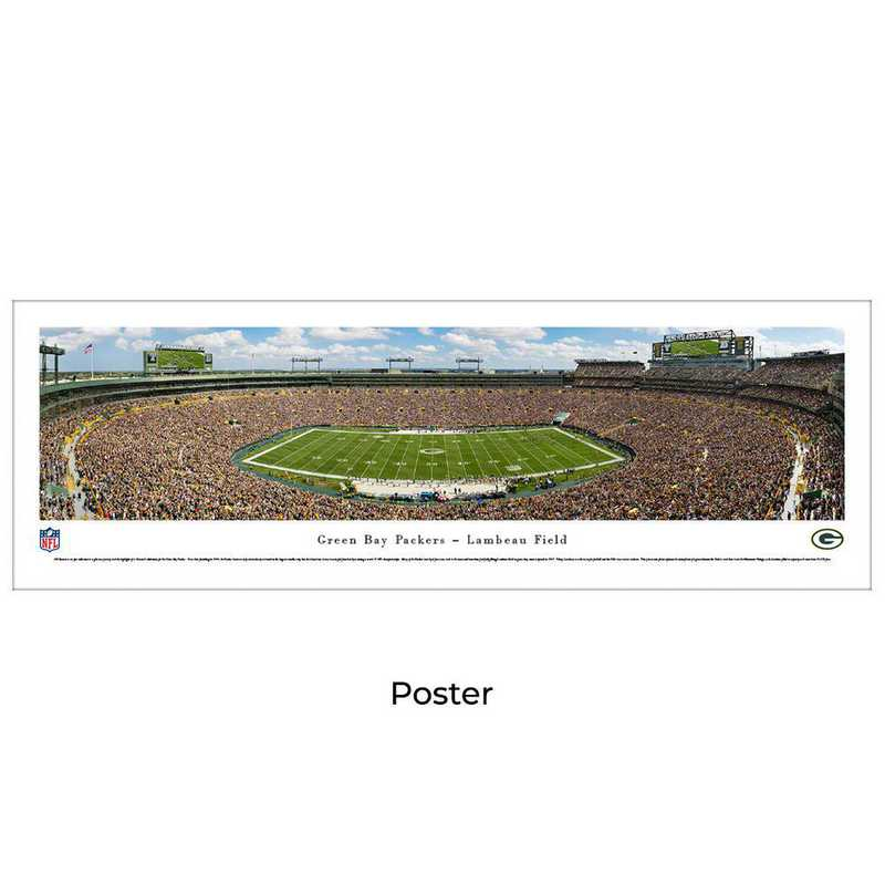 NFLPACK6: Green Bay Packers Football #6 - Unframed Poster