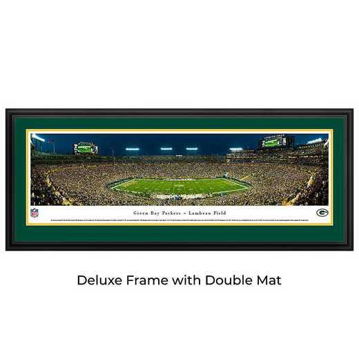 Green Bay Packers - Night Game - Panoramic Print