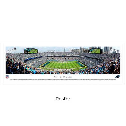 NFLPAN5: Carolina Panthers Football #5 - Unframed Poster