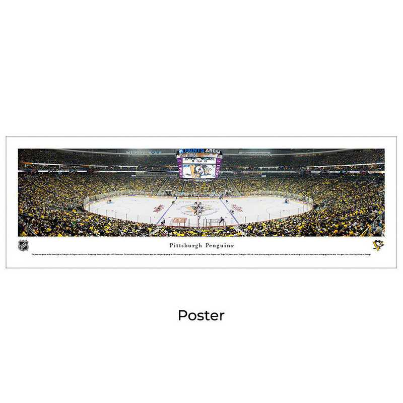 sale retailer 2a047 b8ef2 Pittsburgh Penguins - Center Ice at PPG Paints Arena - Panoramic Poster
