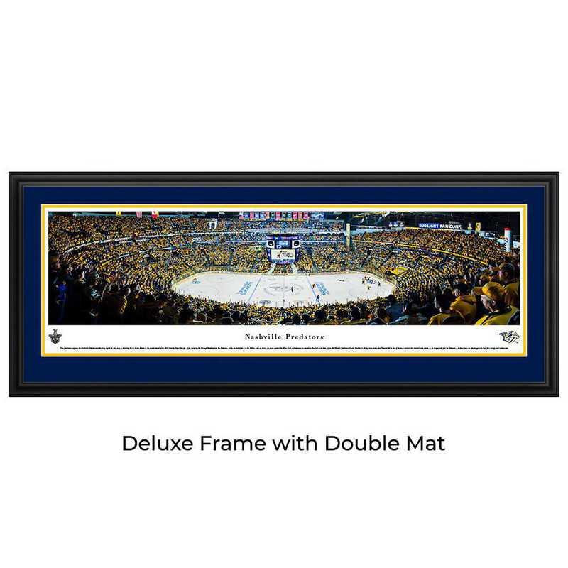 Nashville Predators Playoffs - Center Ice - Panoramic Poster