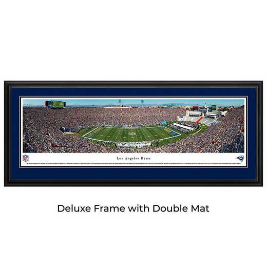 L.A. Rams - 1st Game in L.A. - Panoramic Print