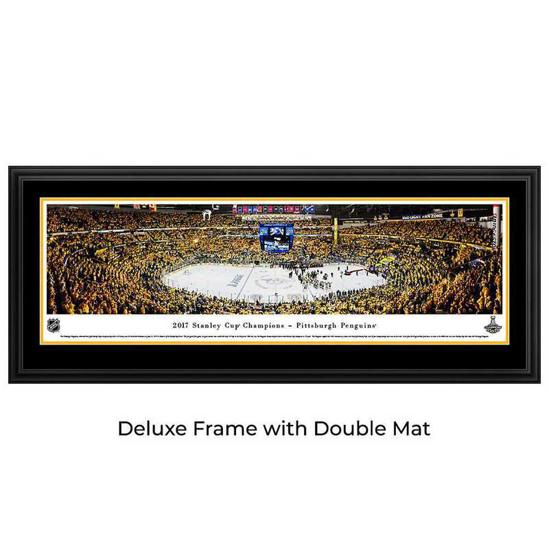 2017 Stanley Cup Champions - Pittsburgh Penguins - Panoramic Poster
