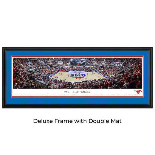 SMU Mustangs Basketball - Panoramic Print