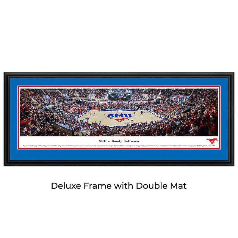 SMU Mustangs Basketball - Panoramic Print