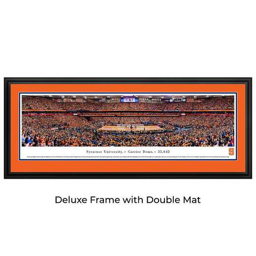 SYRU3D: BW Syracuse Orange Basketball- Deluxe
