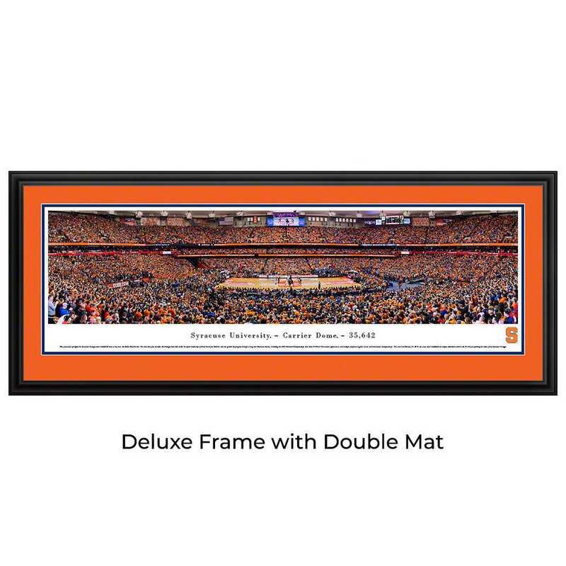 SYRU3D: BW Syracuse Orange Basketball- Deluxe