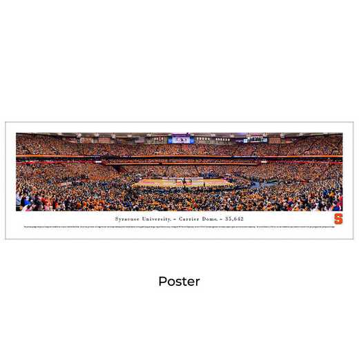 SYRU3: BW Syracuse Orange Basketball, Unframed