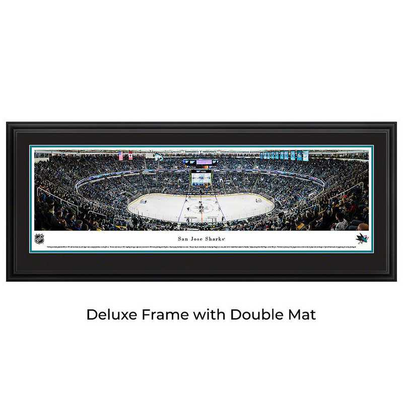 San Jose Sharks - Center Ice - Panoramic Poster