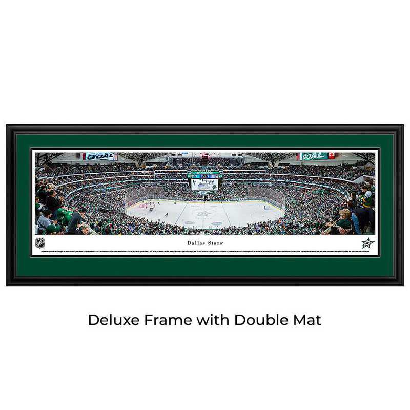 Dallas Stars - Center Ice - Panoramic Poster