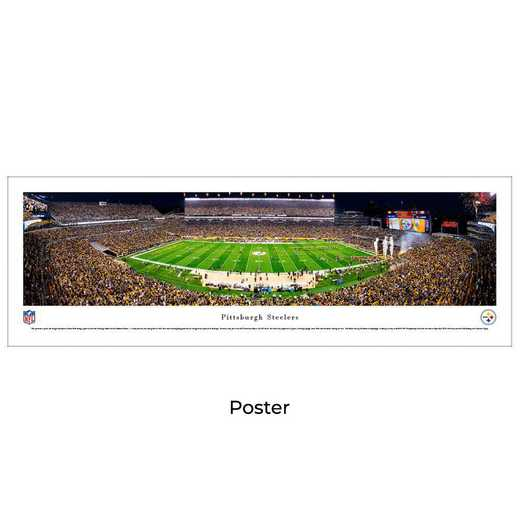 NFLSTE5: Pittsburgh Steelers Football #5, Unframed Poster