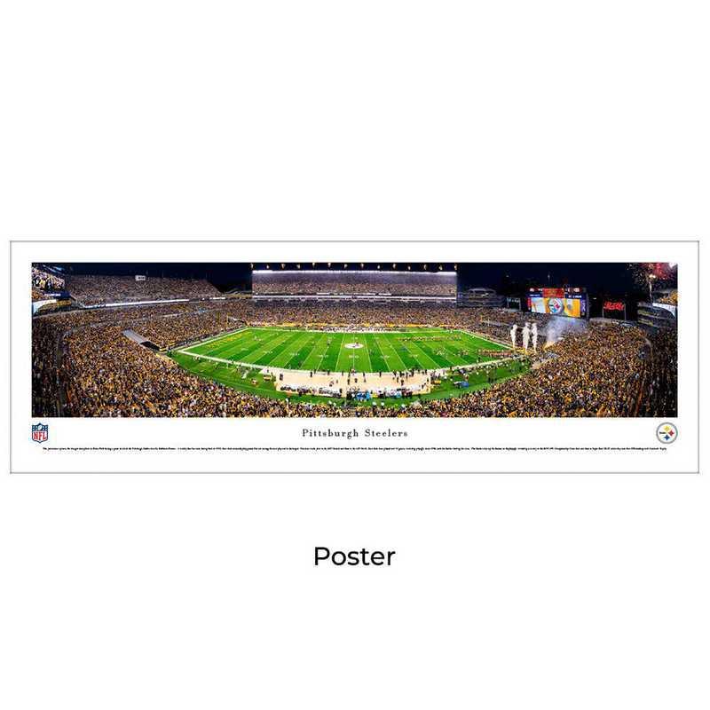 NFLSTE5: Pittsburgh Steelers Football #5, Unframed Poster
