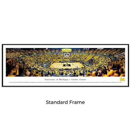 UMI7F: BW Michigan Wolverines Basketball, Standard