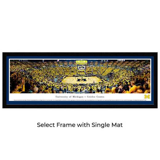 UMI7M: BW Michigan Wolverines Basketball- Select