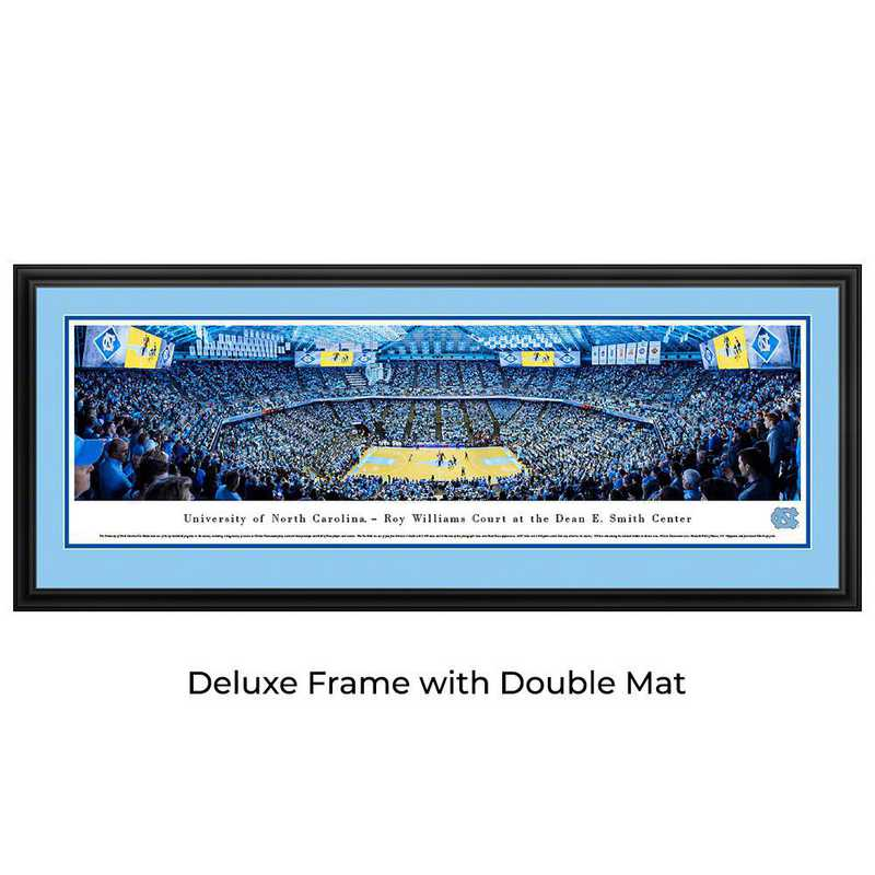 UNC4D: BW North Carolina Tar Heels Basketball- Deluxe