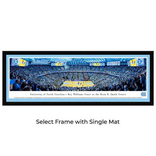 UNC4M: BW North Carolina Tar Heels Basketball- Select
