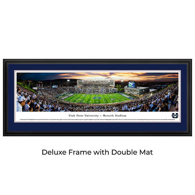Utah State Aggies Football - Stripe - Panoramic Print