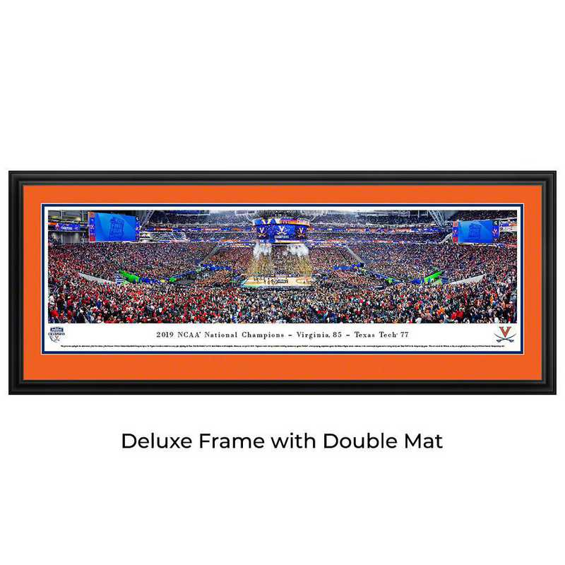 FFBBC19D: 2019 NCAA Champions - Virginia, Deluxe Frame