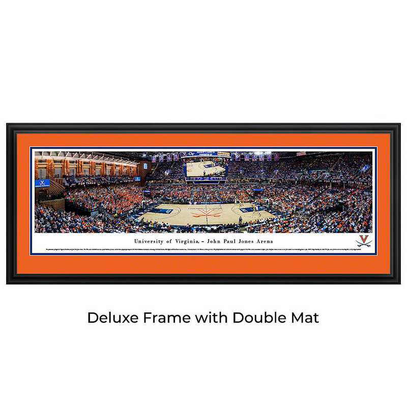 Virginia Cavaliers Basketball - Panoramic Print