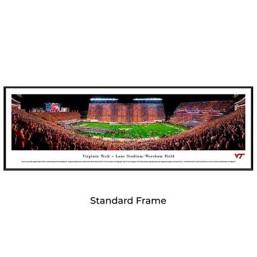 VAT4F: Virginia Tech Hokies Football #4 - Stadium Stripe  - Standard