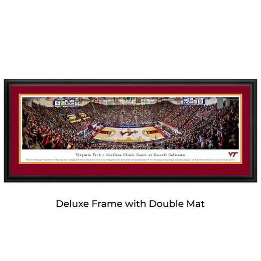 VAT5D: BW Virginia Tech Hokies Basketball- Deluxe