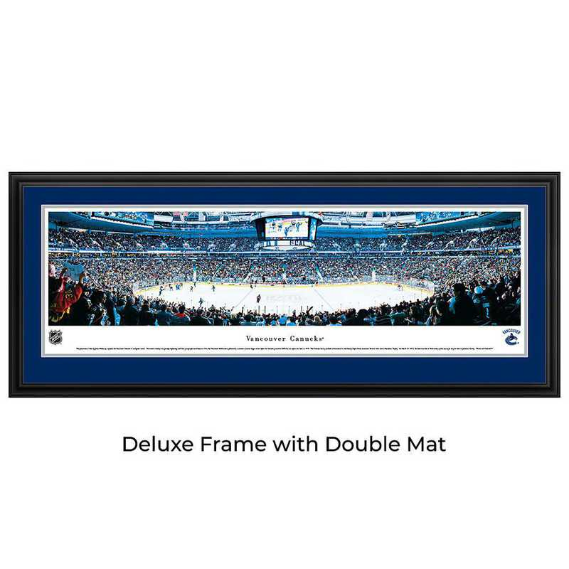 Vancouver Canucks - Center Ice - Panoramic Poster