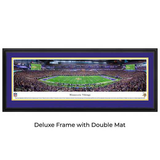Minnesota Vikings - 1st Game at US Bank Stadium - Panoramic Print