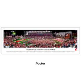 WASU4: Washington State Cougars Football #4 - Unframed Poster