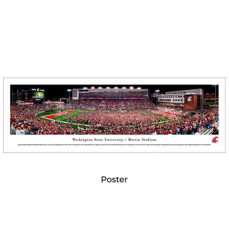 WASU4: Washington State Cougars Football #4 - Unframed Poster