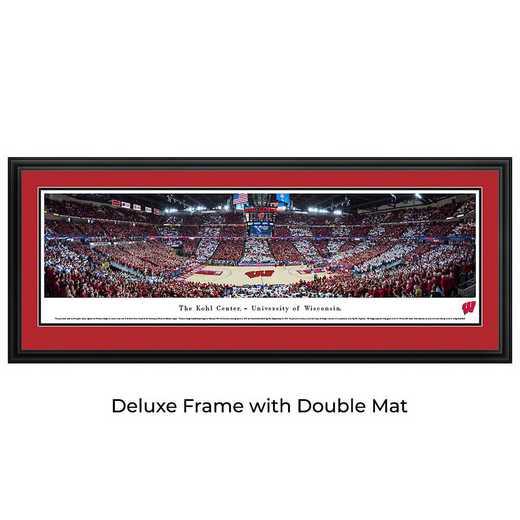 Wisconsin Badger Basketball - Panoramic Print