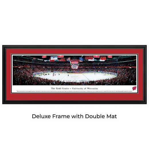 Wisconsin Badger Hockey - Panoramic Print