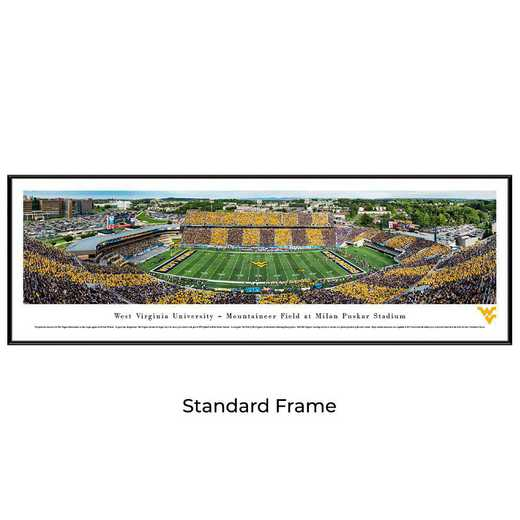 WVU7F: West Virginia Mountaineers Football #7 - Stripe - Standard