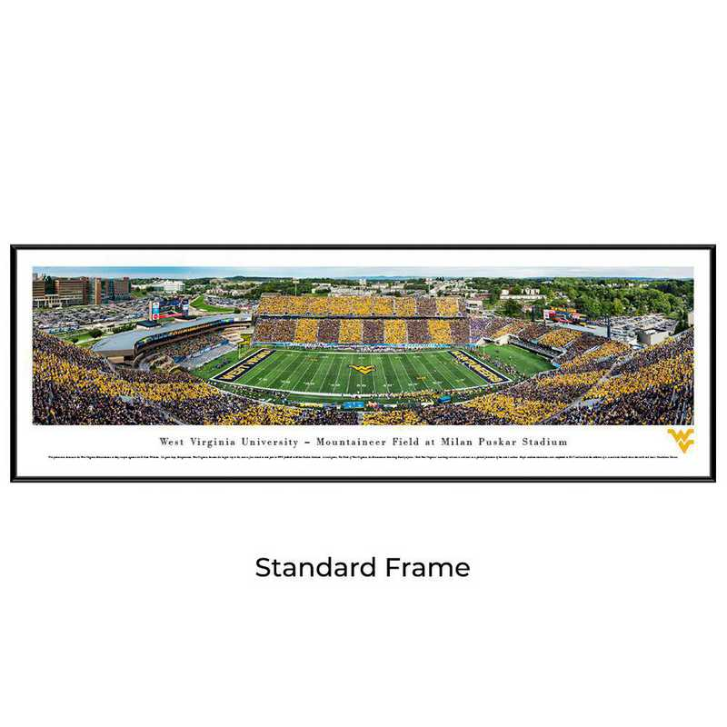 WVU7F: West Virginia Mountaineers Football #7 - Stripe - Standard