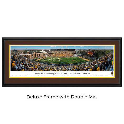 Wyoming Cowboys Football - Panoramic Print