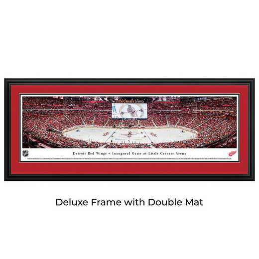 Detroit Red Wings - 1st Game at Little Caesars Arena - Panoramic Poster