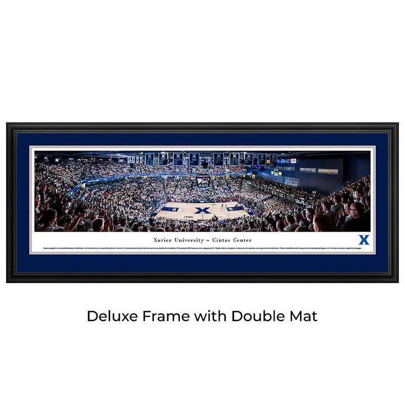 Xavier Musketeers Basketball - Panoramic Print