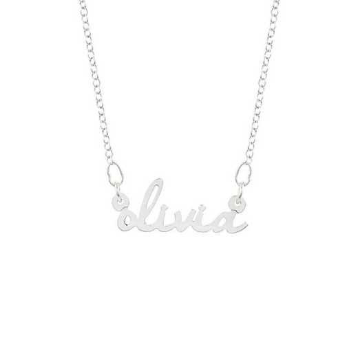 BYN1063S: Nella Mini Nameplate Necklace
