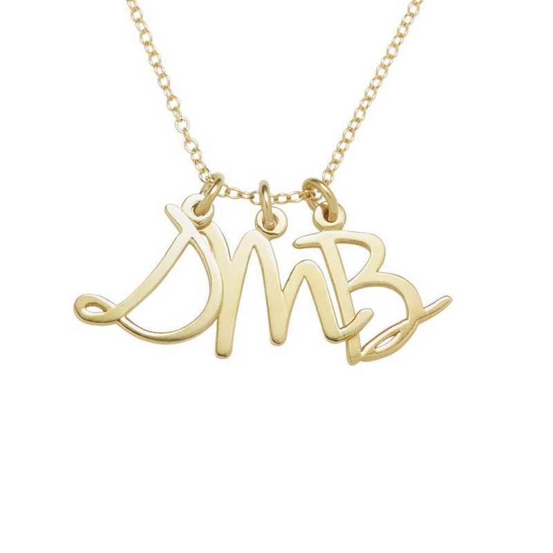 Gold-Plated Idaho State Pendant With Chain