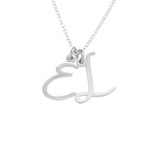 BYN1139S: Nella Two Initial Pendant