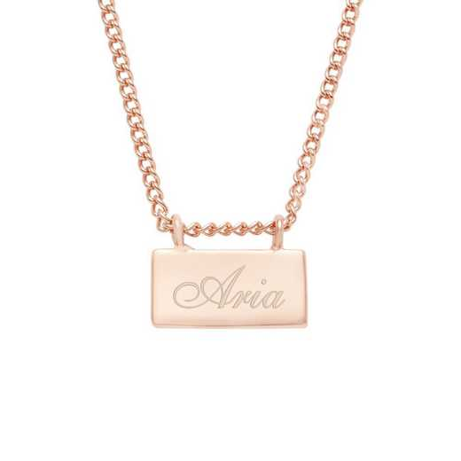BYN1116R: Petite Name Bar Necklace
