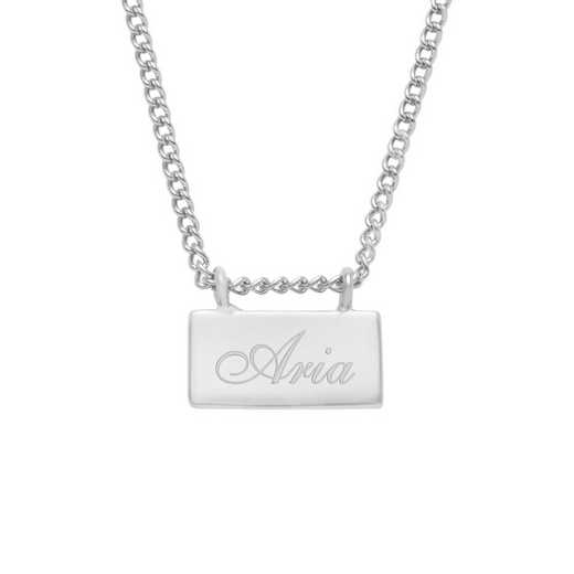BYN1116S: Petite Name Bar Necklace