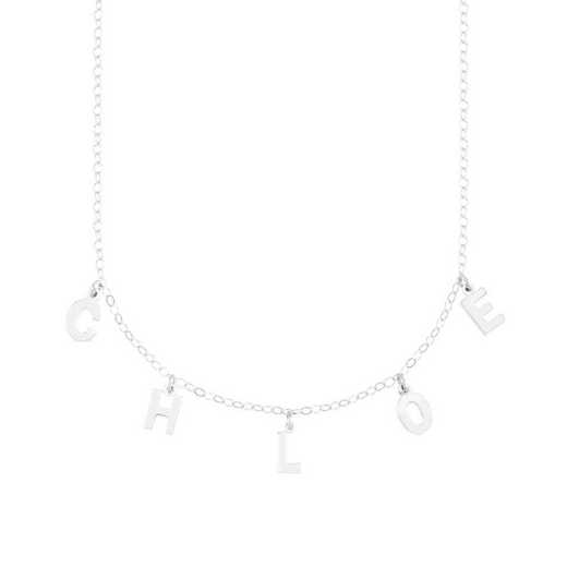 BYN1105S: Sofia Spaced Name Necklace