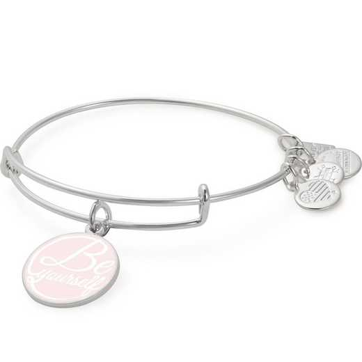 CBD18BYSS: Alex and Ani Be Yourself Charm Bangle - Shiny Silver Finish