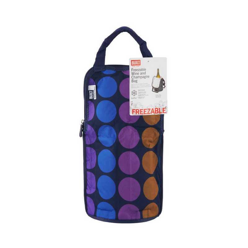 5178239: Built NY NY IceTec Freezable Chiller Travel Bag - Plum Dot