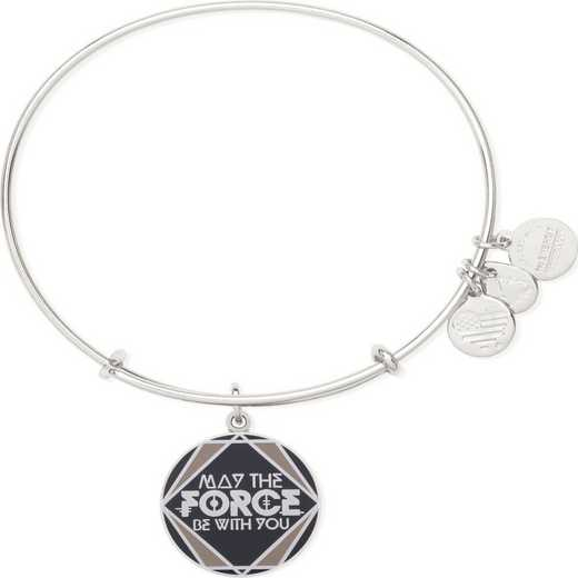 AS16SW03SS: ALEX AND ANI - Star Wars - May the Force Be With You Bangle